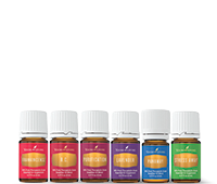 wellbeing living step section essential oils
