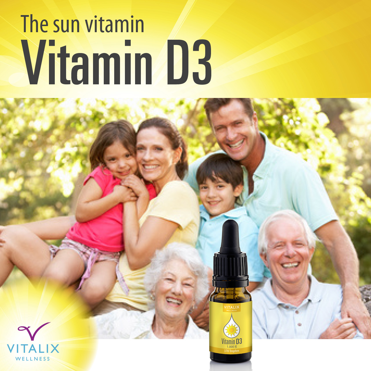 Boost your immune system with the Sun Vitamin 6